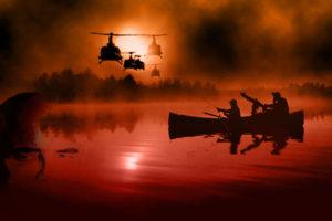 Apocalypse Now es probablemente el mejor ejemplo de cómo la guerra puede transformar, degradar y alterar la naturaleza del ser humano. Hay en la pulsión de sus planos, en los recorridos de la cámara y en las resonancias literarias un indescifrable valor estético y reflexivo sobre el absurdo de la propia lucha.