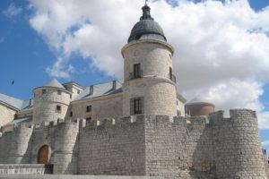 Fotografía del castillo de Simancas, sede del Archivo General de Simancas (Wikimedia).