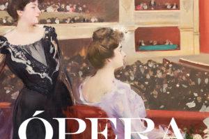Cartel de la exposición 'Ópera. Pasión, poder y política', que se puede visitar en CaixaForum (Barcelona) hasta el 26 de enero de 2020.