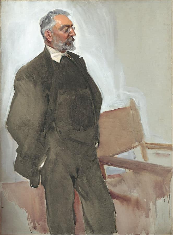 Unamuno 1912. por Joaquín Sorolla. Mueso Bellas Artes de Bilbao