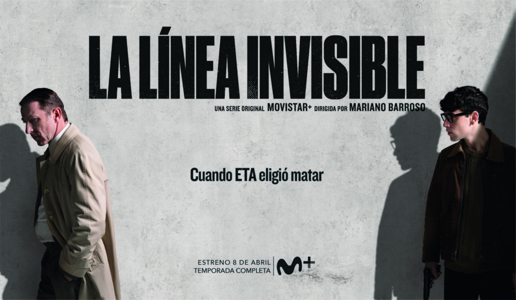 Cartel de la serie 'La línea invisible' de Movistar+.