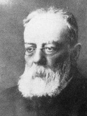 Anselmo Lorenzo líder anarquista hacia 1900
