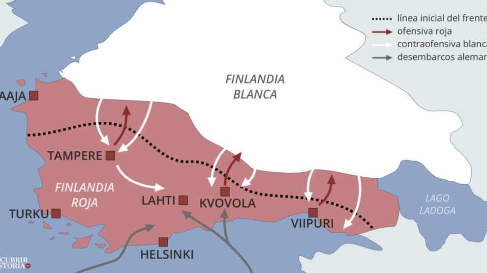 Operaciones militares, mapa de Juan Pérez Ventura.