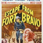 Fort Bravo (Escape from Fort Bravo, John Sturges, 1953), es un western clásico protagonizado por Eleanor Parker y William Holden. La película tiene la facultad innegable, como tantos otros clásicos, de evocar aventuras y pasiones simplemente con el recuerdo de algunos fragmentos. Anida, por tanto, en esos sustratos del pasado toda una forma de entender el cine.