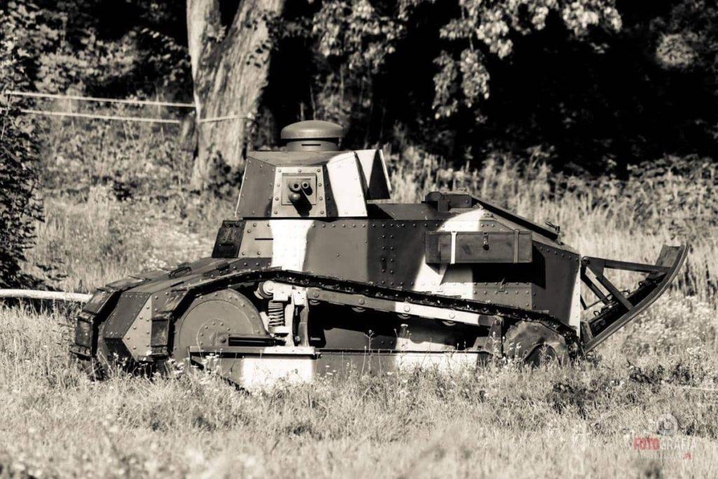 Renault FT-17 en la recreación histórica '100 Años del Frente Occidental 1917' (Tomasz Karolski)